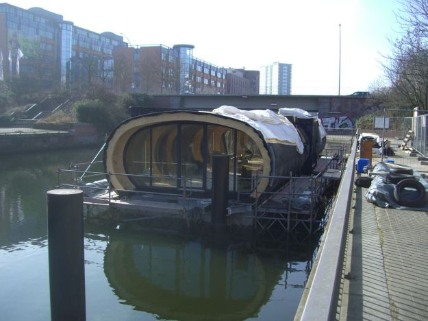 Norderkai Hausboot im Bau 02